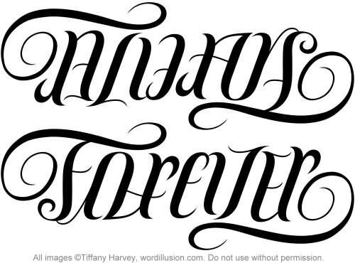 Tattoo Design For Ambigram