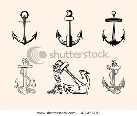 Anchor Symbol Tattoos