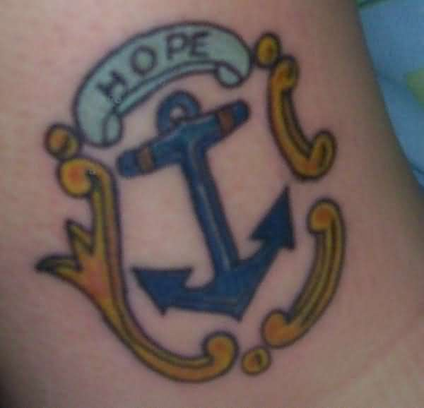 Hope anchor tattoo for Hope anchors the soul tattoo