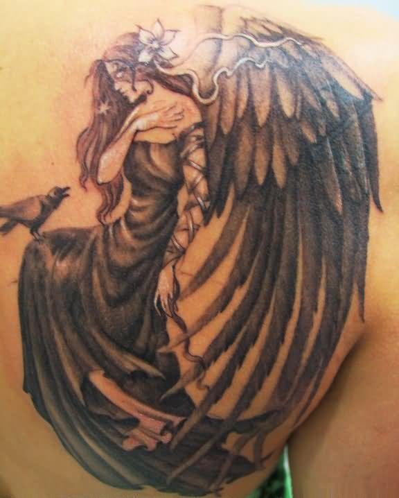 Guardian Angel Wings Tattoo Designs