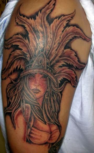 Aztec Tattoo Designs For Back