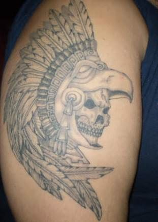 Aztec Tattoos on Aztec Tattoos Pictures And Images   Page 7