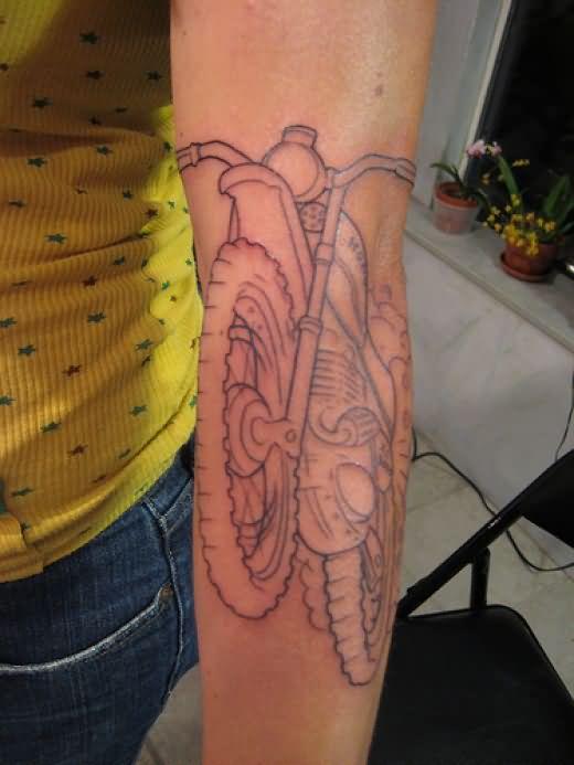 bike tattoo images amp designs