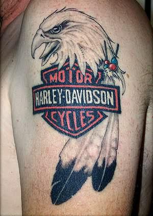 Harley Davidson Red Deer >> Bike Tattoos : Page 23