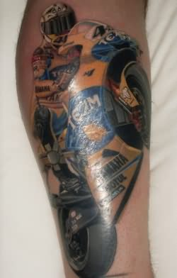 Yamaha Bike Tattoo