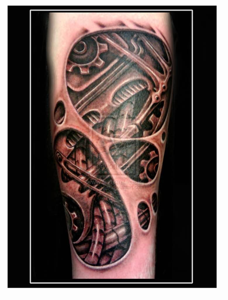 Biochemical Underskin Tattoo