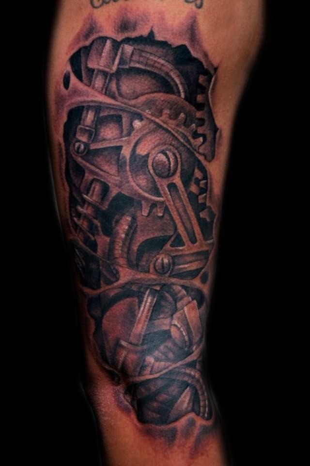 piston tattoos mechanic arm tattoo page 2 tattoo tattooskid. Black Bedroom Furniture Sets. Home Design Ideas