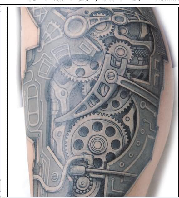 spare parts tattoo