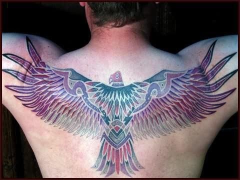 Eagle Back Tattoo eagle tattoo on back Eagle