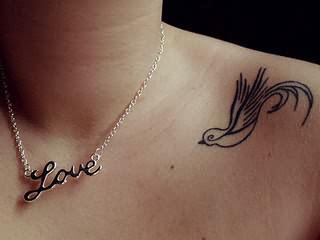 52f66d8d1 Small Bird Tattoo On Shoulder