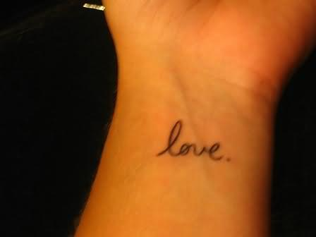 Live Laugh Love Wrist Tattoos on Cite Titletattoostimecomtattoostimecomcite
