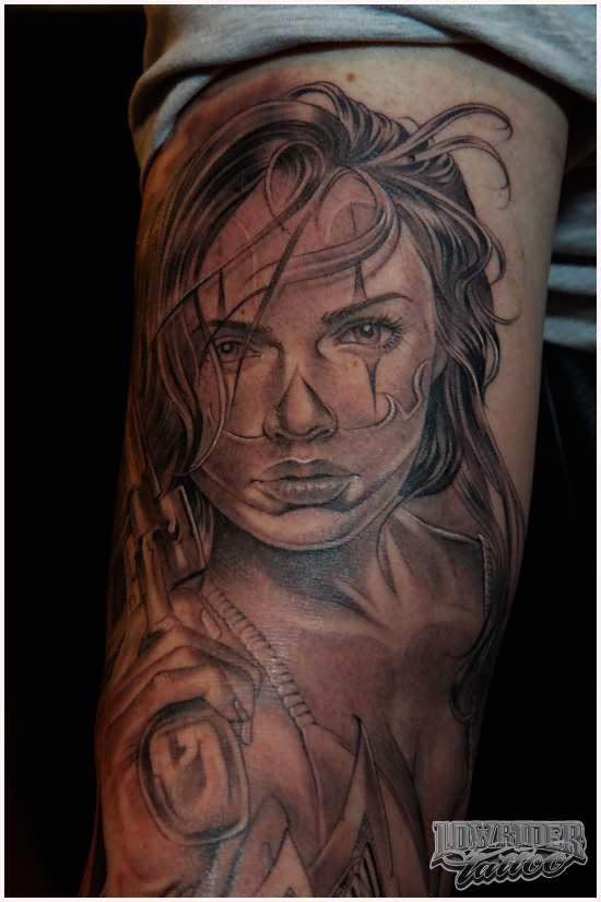 gangsta girls tattoos - photo #3
