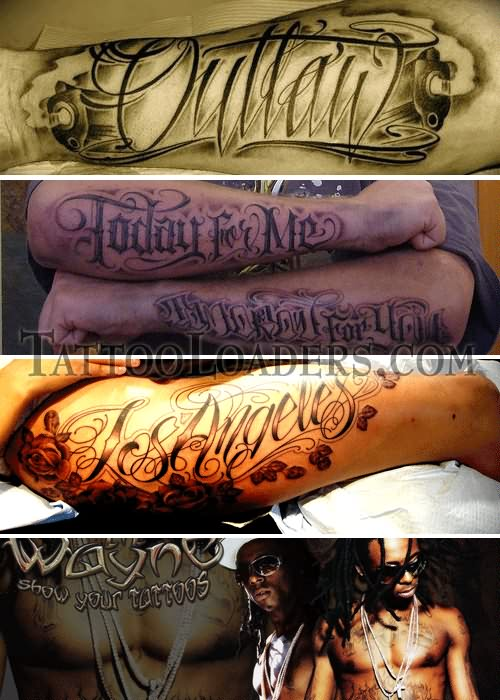 Gangsta Love Tattoos