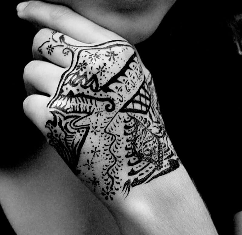 India Ink Tattoo
