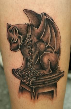 Gargoyle Dog TattooGargoyles Tattoos Meaning