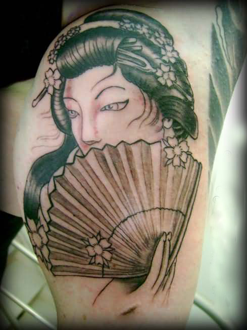 Latest Geisha Tattoos