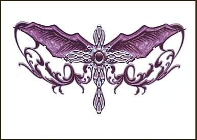 Gothic Gross Tattoo Design