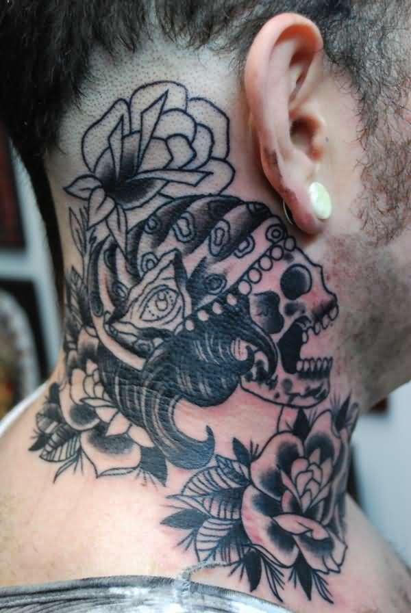 neck tattoos for men