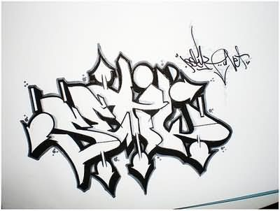 Graffiti Tatto on For Forums   Url Http   Www Tattoostime Com Graffiti Fonts Tattoos
