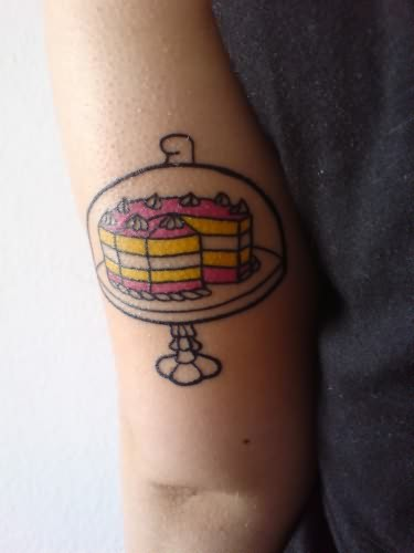 Cake Baking Tattoo