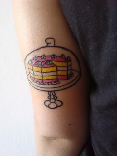 Cake Baking Tattoo