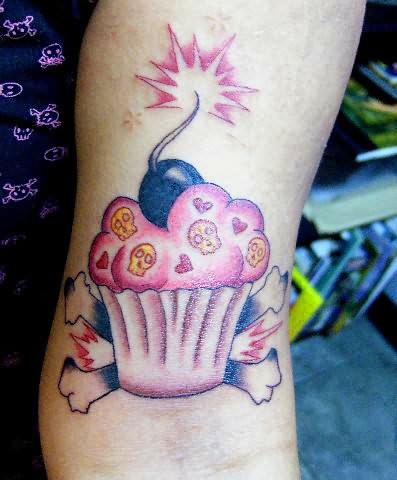 Cake Tattoo Images Amp Designs