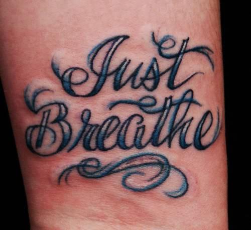Just Breathe Gypsy Tattoo
