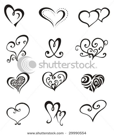 Queen of Hearts Tattoo Designs