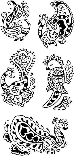 Bird Henna Tattoo Designs: Henna Tattoo Images & Designs
