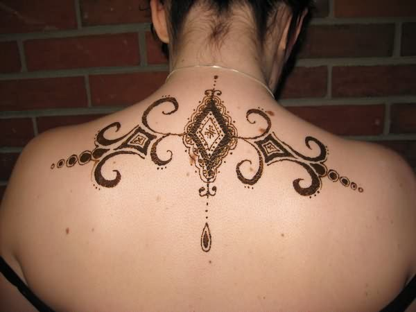 Henna Tattoo Neck Images Amp Pictures  Becuo