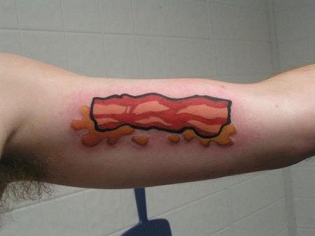 Funny Bacon Tattoos