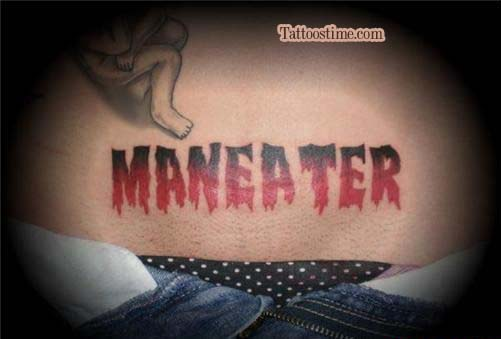 MANEATER - Funny Tattoo