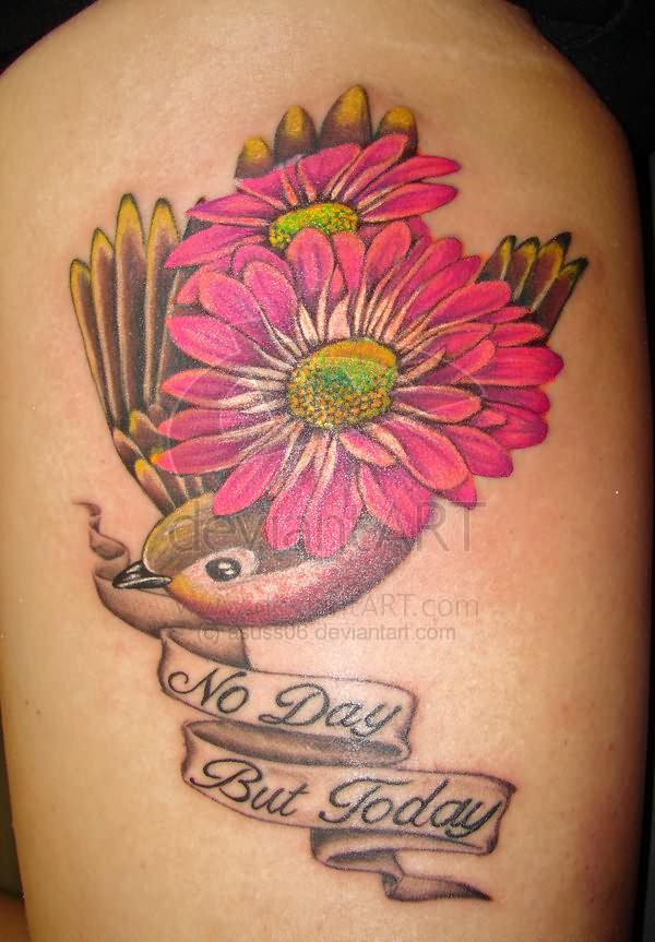 Gerber Daisy Tattoo: Daisy Tattoo Images & Designs