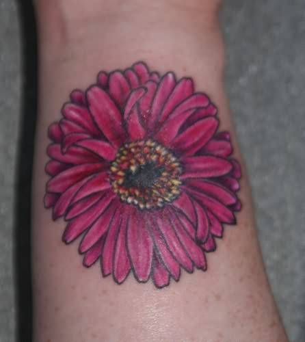 Wonderfull Daisy Tattoo