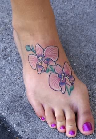View More: Orchid Tattoos