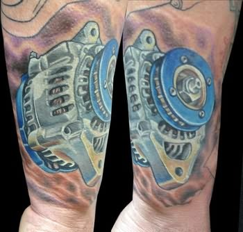 Car Parts Tattoos