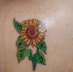 Sunflower Tattoos Styles