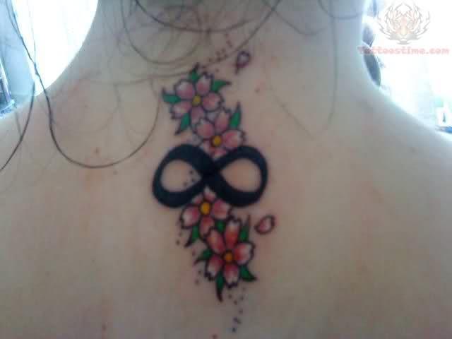 Infinity Symbol Tattoo On Foot