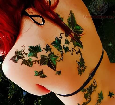 ivy tattoo images designs