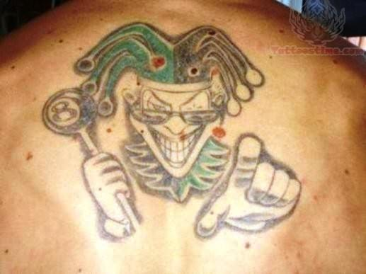 ICP Juggalo Tattoo On Back