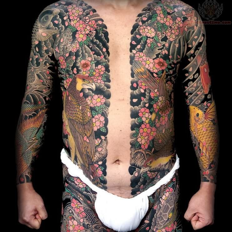 Traditional Japanese Tattoo on Full Body