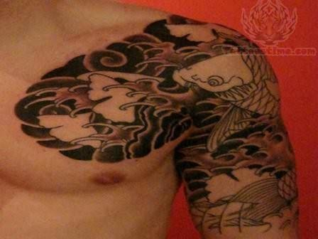Trendy Japanese Tattoo