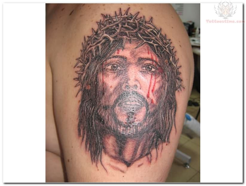 9 year old skinhead kicked out of school page 2 the for Tattoos of black jesus