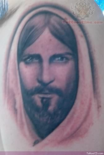 15 inspiring jesus tattoos designs on neck forearm back tattoo me now. Black Bedroom Furniture Sets. Home Design Ideas