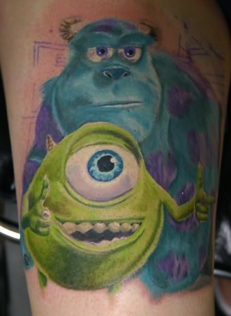 Monster Ink Tattoo