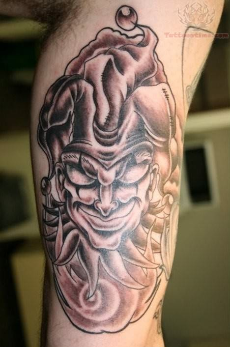 Joker Tattoo Designs For Men