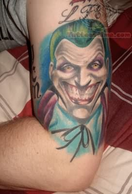 Jonathan Joker Batman Tattoo Art