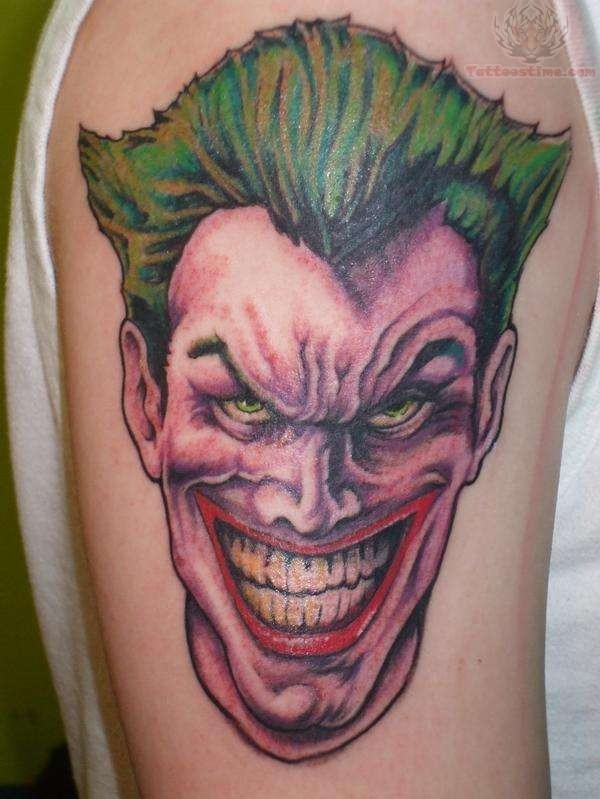 joker tattoo designs pictures - photo #13