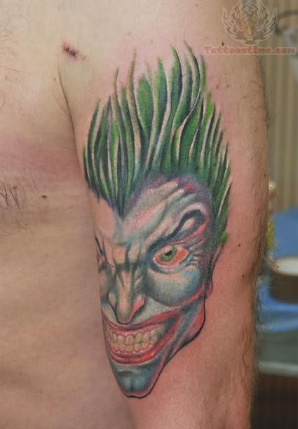 Joker Laughing Cartoon
