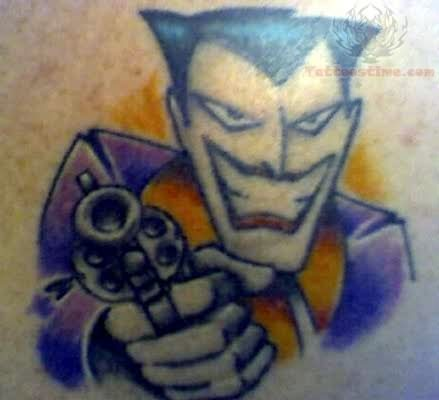 Michael Vegas Joker Tattoo Art